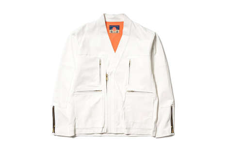 Kimono-Inspired Jackets
