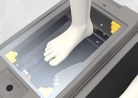Digital Orthotic Foot Scanners