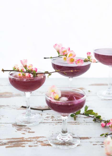 Floral Blossom Cocktails