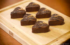 Sweet Steak Brownies - These Father's Day Desserts are Decorated to Look Like Barbecued Meat