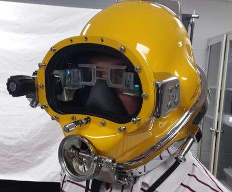 Futuristic Diving Helmets
