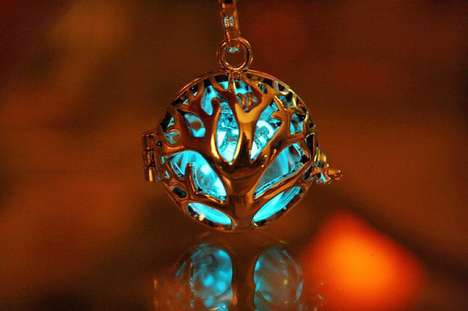 Fairy-Like Illuminated Jewelry