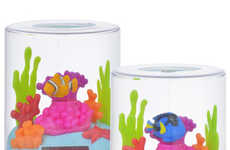 Solar-Powered Fish Toys - These Terrarium Tanks Provide an Alternative to Real or Robotic Fish
