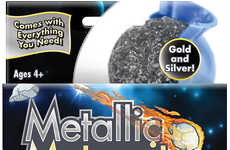 Bouncing Meteor Toys - This Dollar Store Space Toy for Kids Creates Gold and Silver Meteorites