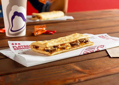 Lightened-Up Steak Sandwiches - Taco Bell's New Flatbread Sandwiches are a Lighter Fast Food Option