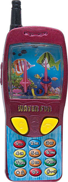 Phone-Shaped Water Games