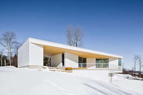 Landscape-Blending Houses