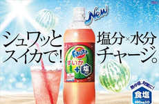Salted Watermelon Sodas - This Flavorful New Fanta Drink is Formulated to Protect Against Heatstroke