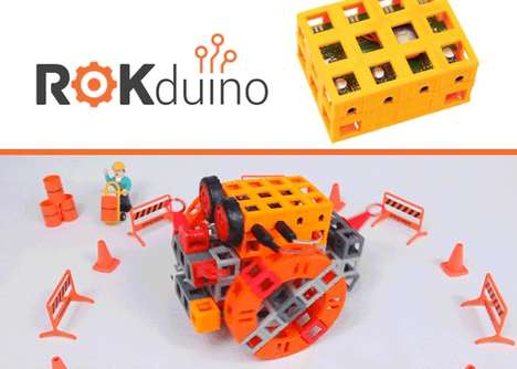 Connected Building Block Kits - The 'ROKduino' Robot Building Blocks are an Educational Form of Play