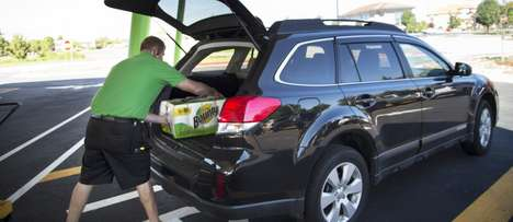 Rideshare Grocery Deliveries
