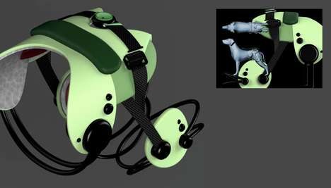 Wearable Robotic Dog Supports