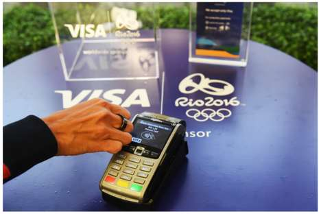 Payment-Processing Rings - VISA's New Payment Ring Allows Consumers to Buy Things with Their Jewelry