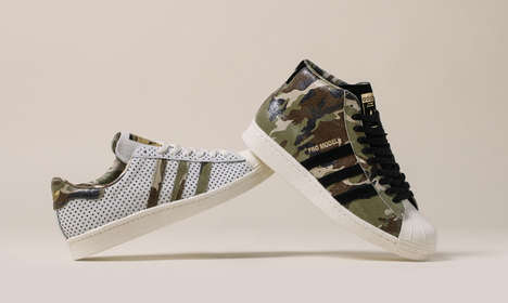 Collaborative Sneaker Promotions - DJ Clark Kent and Russ Bengtson Promote a New Colorway for adidas