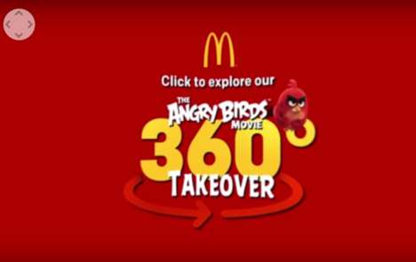 Cinematic Fast Food Campaigns