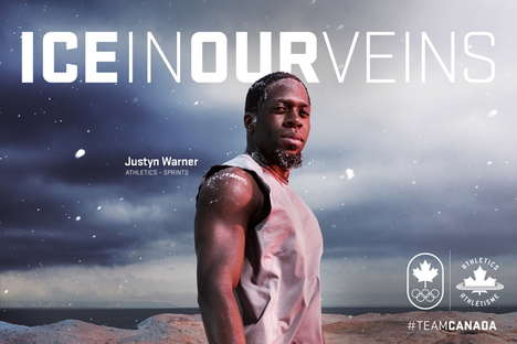 Resilient Athlete Campaigns - The COC Triumphs Canadian Athletes with 'Ice in Our Veins'
