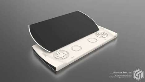 Gaming Smartphone Concepts - 'Nintendo Plus' is a Smartphone and Gaming Console Hybrid