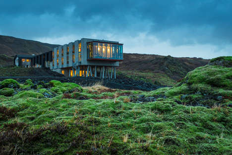 Restored Eco-Friendly Hotels - This Luxury Hotel Was Once an Inn That Housed Power Plant Workers