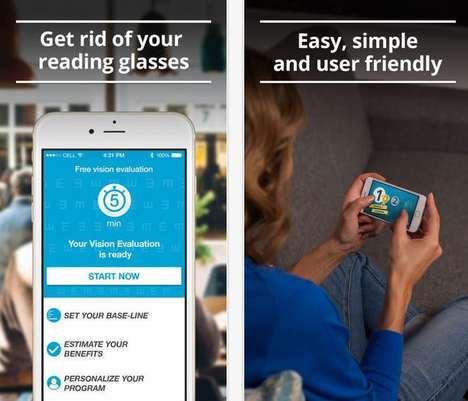 Vision-Improving Mobile Apps