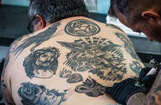 Tattoo Database Technology - The FBI is Working to Accumulate Tattoos for Semiotic Research