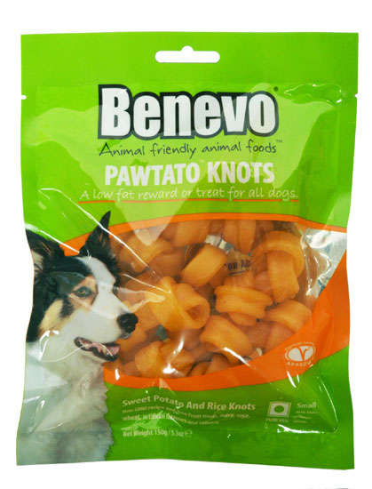 Potato Pet Chews - Benevo's 'Pawtato Knots' are a Plant-Based Alternative to Rawhide Chews