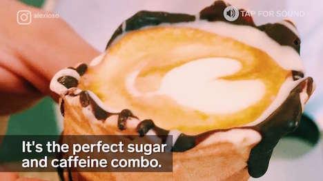 Caffeine-Filled Ice Cream Cones