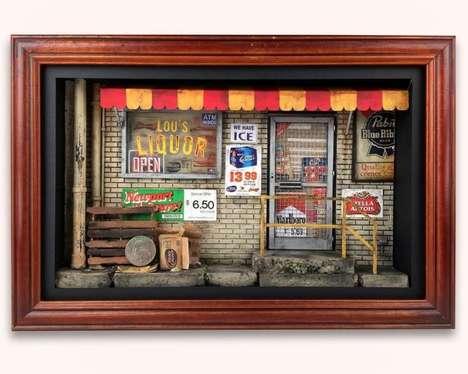 Miniature Urban Scenes