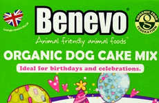 Canine Cake Kits - This Dog Cake Mix Makes an Organic Cake for Dogs with Coconut-Flavored Frosting