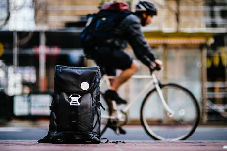 Stylish Commuter Backpacks - The Backpaix Boasts a Versatile, Practical and Eco-Friendly Design