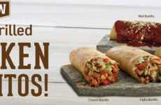 Smokey Fire-Grilled Burritos - These Loaded Burritos are Stuffed with Fire-Grilled Chicken