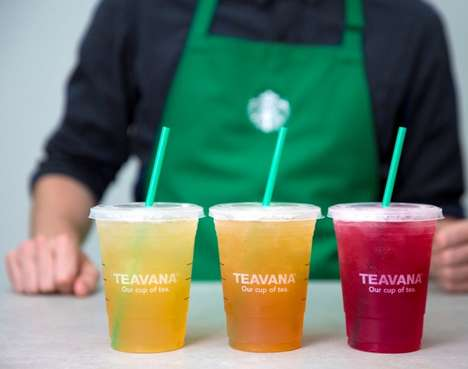 Celebratory Iced Tea Promotions - This Starbucks Promotion Celebrates National Iced Tea Day