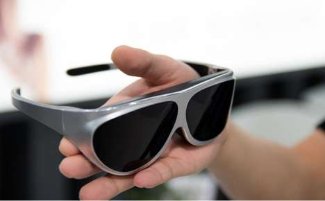 Fashion-Forward VR Glasses - 'Dlodlo Glass V1' is a Pair of VR Glasses for the Modern Gamer