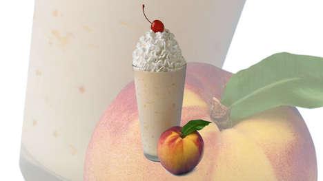 Fruity Hand-Spun Milkshakes