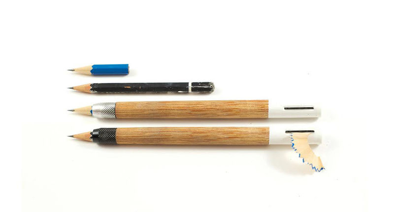 Self-Sharpening Pencils