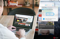 Battery-Saving Web Browsers - The Opera Browser is Engineered to Provide Energy Efficient Viewing