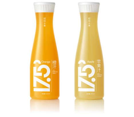 Minimalist Orange Juice Branding