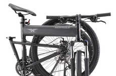 Shock-Absorbing Mountain Bikes