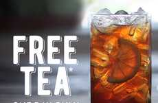 Celebratory Iced Tea Giveaways - This Promotion Celebrates National Iced Tea Day 2016