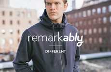 Freshness-Focused Clothing - 'Ably' Natural Clothing Keeps Dirt, Stains and Sweat at Bay
