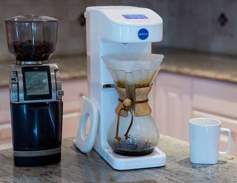 Automated Pour-Over Coffee Makers - The 'Invergo' Automates the Artisanal Coffee Experience