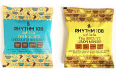 Pre-Packaged Tea Biscuits - Rhythm108's New Ooh-la-la Tea Biscuits are a Healthy Dessert Option