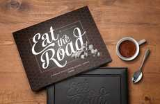 Edible Car-Honoring Books - The Volkswagen 'Eat the Road' Photography Book Features Edible Prints