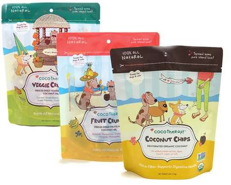 Dog-Friendly Dehydrated Chips - CocoTherapy Makes Vegetable, Fruit and Coconut Chips for Dogs
