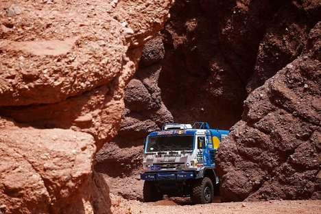 Muscular Rally Trucks