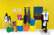 Artistic Accessory Pop-Ups - The LOEWE Ibiza Summer Shop Marries Style and Art Seamlessly