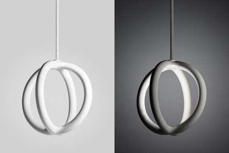 3D-Printed Ceramic Pendants