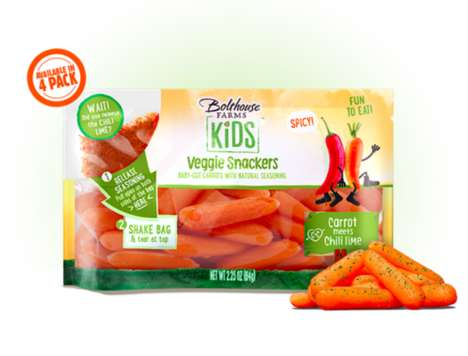 Spicy Carrot Sticks
