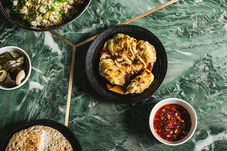 Gourmet Dumpling Menus - East London's Eastern-Themed Menu Caters to an Australian Audience