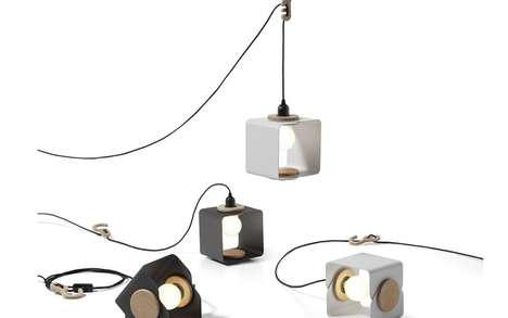 Shape-Shifting Lamps