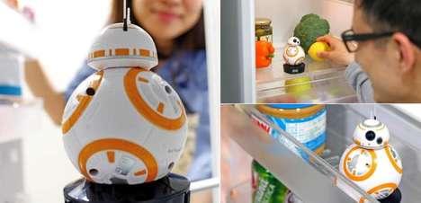 Fridge Interior Robot Toys