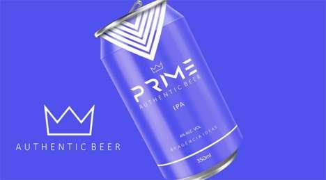 Vibrant Beer Branding